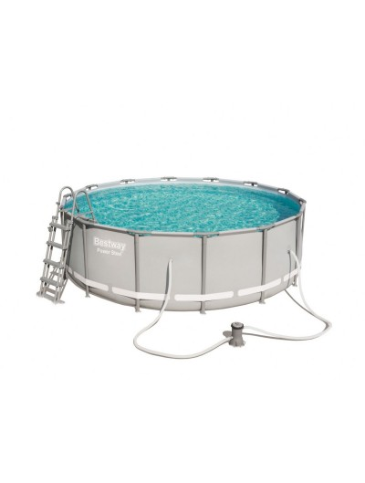Okrúhly bazén 14FT 427x122 cm POWER Steel 6v1 BESTWAY