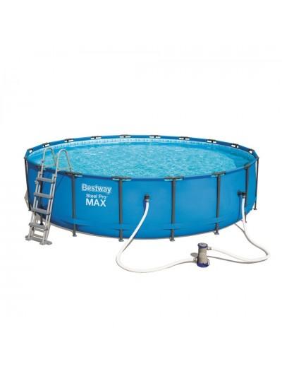 Okrúhly bazén 18FT 549x122cm SteelPRO 6v1 BESTWAY