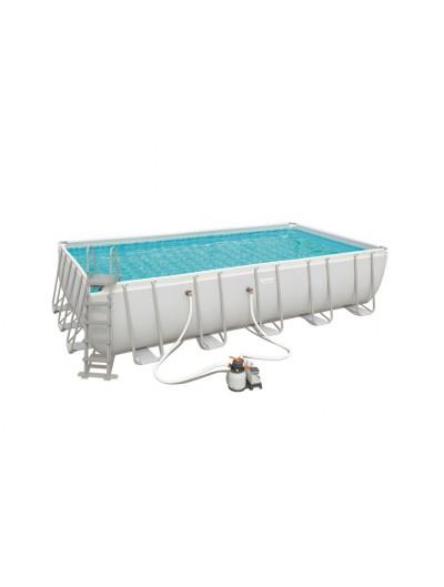 Nadzemný záhradný bazén 22FT 671x366x132 cm POWER Steel BESTWAY
