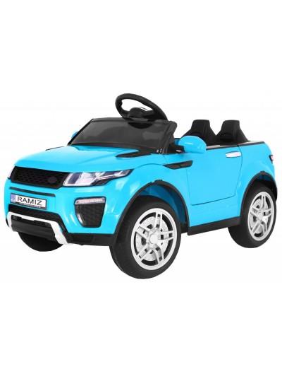 Elektrické autíčko Rapid Racer - Modré