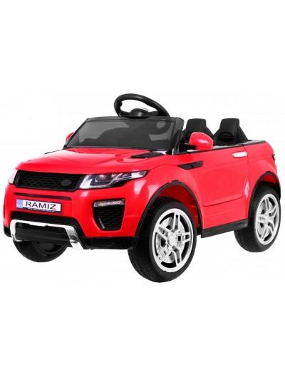 Elektrické autíčko Rapid Racer - Červené