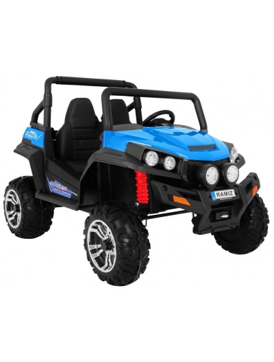 Elektrické autičko Grand Buggy 4 x 4 - Modré