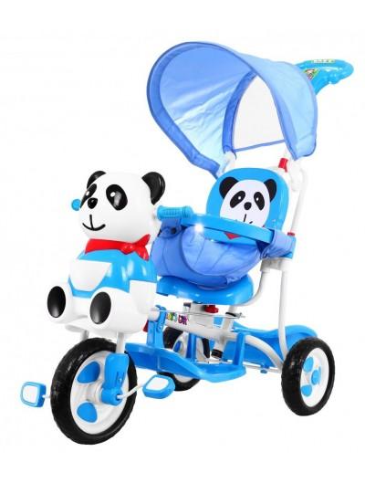 Trojkolka Panda - Modrá