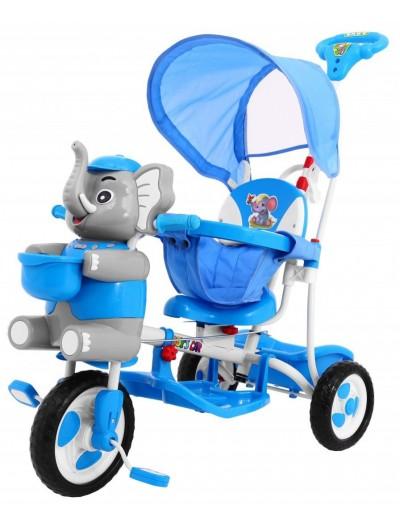 Trojkolka Slon - Modrá