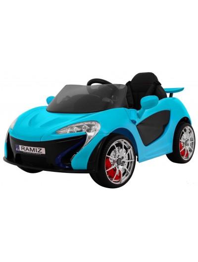 Elektrické autičko Small Racer - Modré