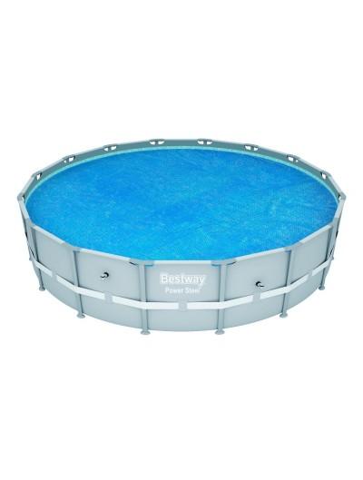 Solárny kryt, solárna plachta na bazén 488 cm BESTWAY