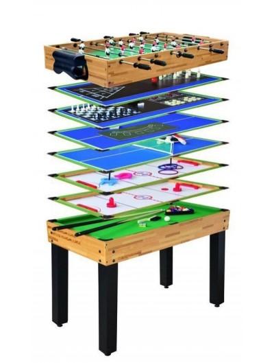 Hrací stôl 12 na 1 105 x 57xx71 cm