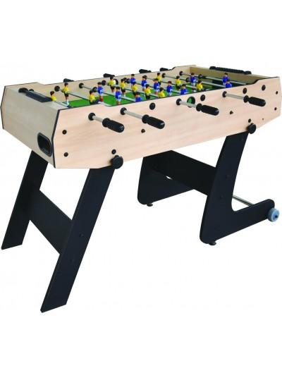 Drevený stolný futbal 152x74x80 cm skladací