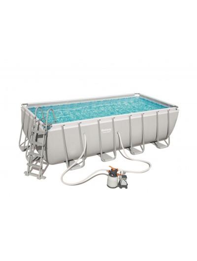 Nadzemný záhradný bazén 488x244x122cm 16 x 8 FT Power Steel BESTWAY