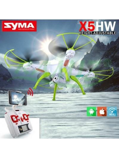 Dron Syma X5HW - Bielo-Zelený