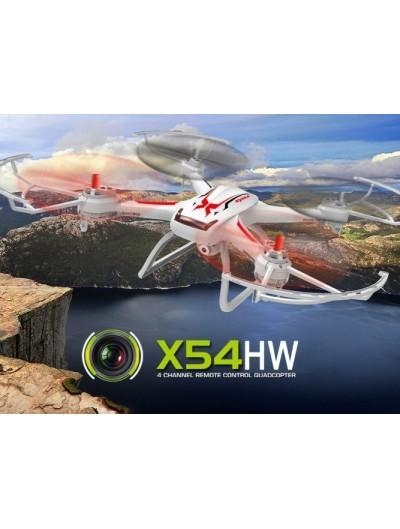 Dron Syma X54HW - Bielo-Červený