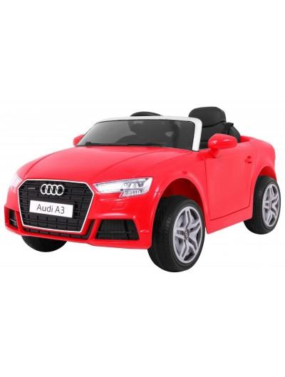 Elektrické Autičko AUDI A3, 2 x 12V - Červené