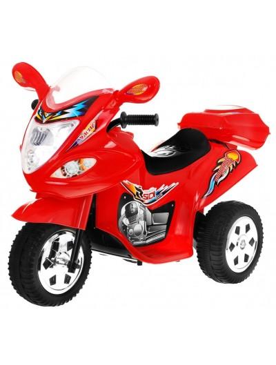 Elektrická motorka 18V - Červená