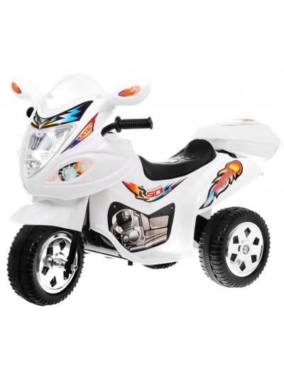 Elektrická motorka 18V - Biela
