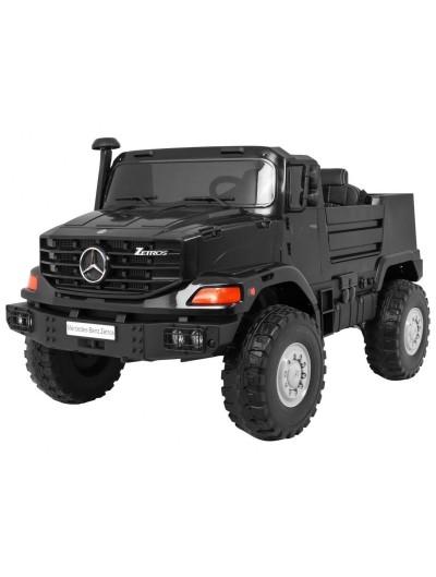 Elektrické autíčko Mercedes-Benz Zetros - Čierne