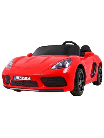 Elektrické autičko PERFECTA - Červené