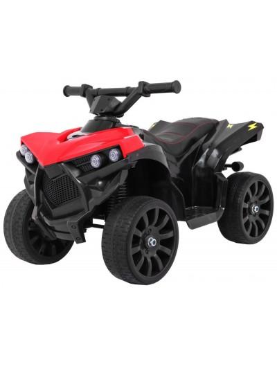 Elektrická štvorkolka QUAD , EVA kolesá, červená
