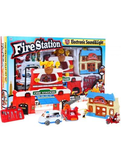 Požiarna stanica -11 elementov