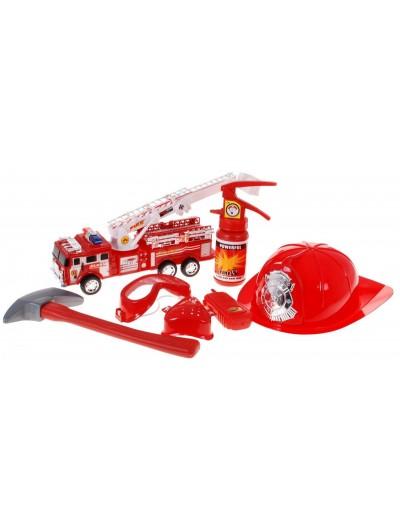 Požiarnická zostava+auto