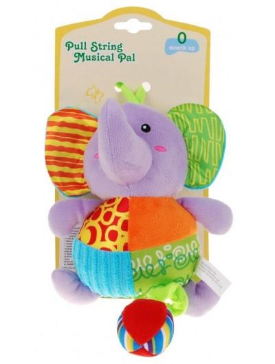 Hracie plyšové zvieratko sloník-29cm