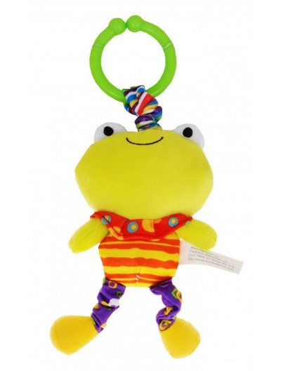 Plyšová žabka