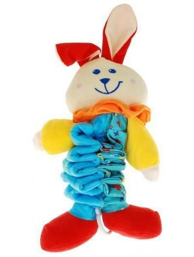 Plyšový králik- pružina
