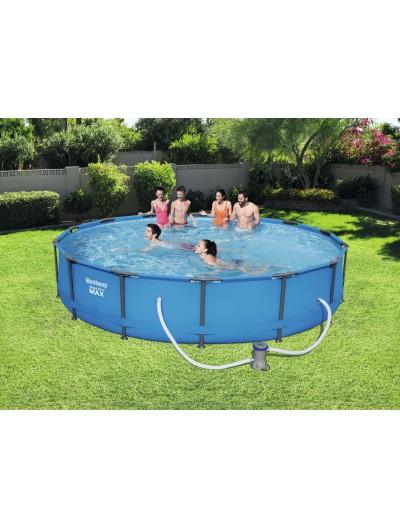 Okrúhly bazén14 FT MAX  BESTWAY 4,27 m x 84 cm