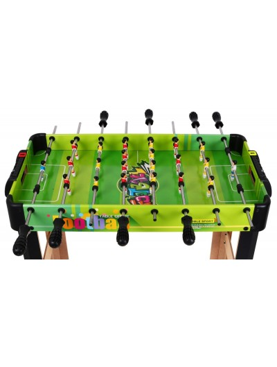 Drevený stolný futbal - farebný