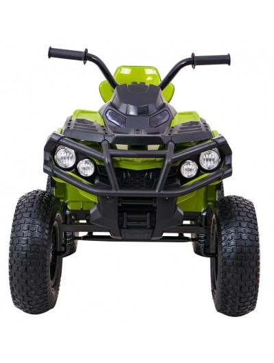 Elektrická štvorkolka Quad ATV Air s nafukovacími kolesami - Zelená