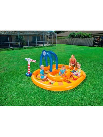 Detský bazén Vláčik 285 x 224 x 119 cm 53061BESTWAY