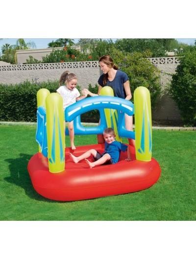 Nafukovacia trampolína pre deti, nosnosť 85kg 157/147 cm BESTWAY