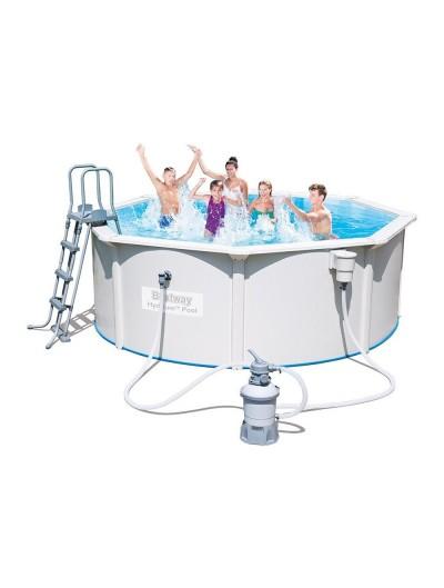 Okrúhly bazén  HYDRIUM 12FT 360x120 cm Piesková filtrácia BESTWAY