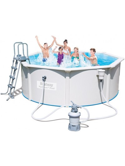 Okrúhly bazén HYDRIUM 12 ft 360x90 cm 4 in 1 BESTWAY
