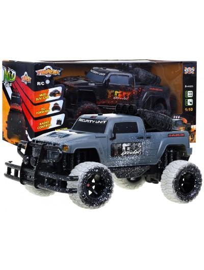 Autíčko na ovládanie Jeep ORG 1:10 - Sivé