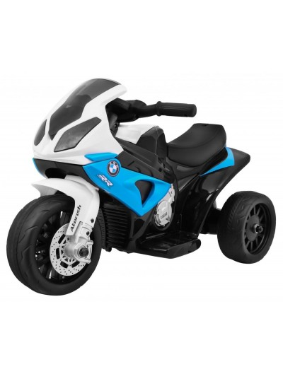 Elektrická motorka BMW S1000 SMINI RR - Modrá