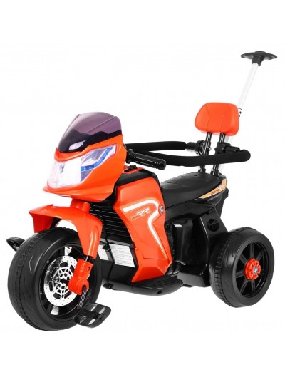 Elektrická trojkolka, motorka - Oranžová