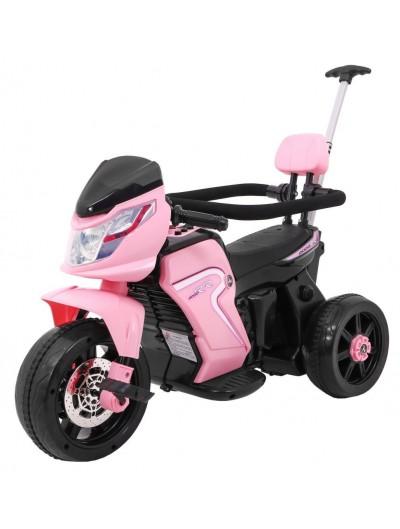 Elektrická trojkolka, motorka - Ružová