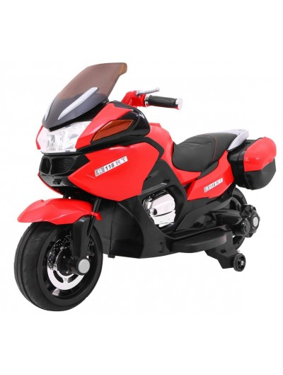 Elektrická motorka Racer 120cm - Červená