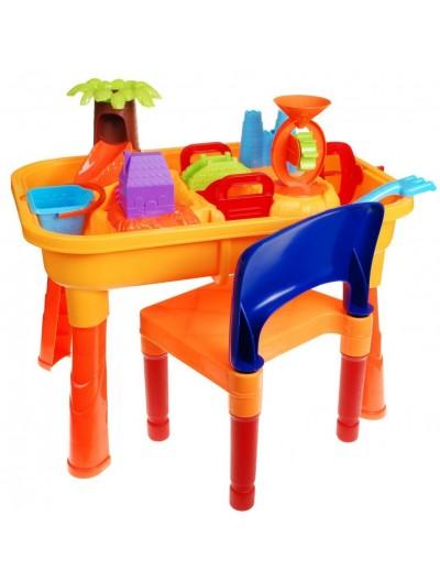 Stolík s pieskoviskom 2v1 + stolička