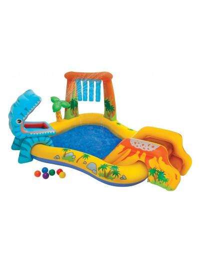 Detsky bazén Dinoland 249x191x109 cm  INTEX
