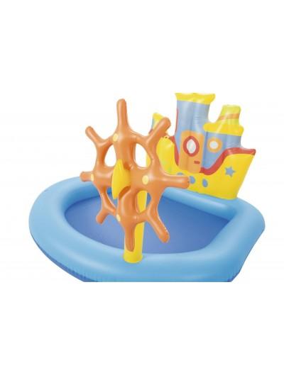 Nafukovací detský bazén, Pirátksa Loď BESTWAY
