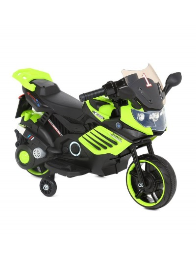 Elektrická Motorka SuperBike 73cm, Zelená
