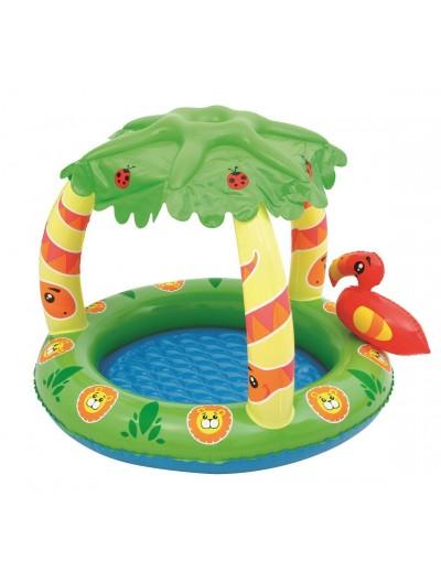 Detský bazén so striežkou, džungľa BESTWAY