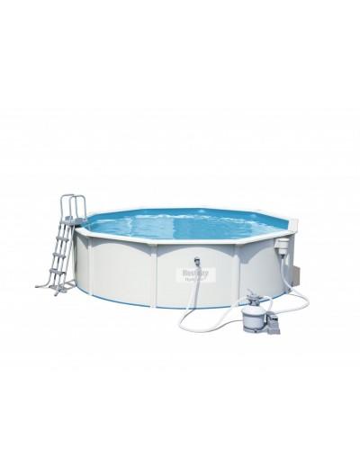 Okrúhly bazén celoročný bazén s technológiou  HYDRIUM 15 ft 460x120 cm  5v1 BESTWAY
