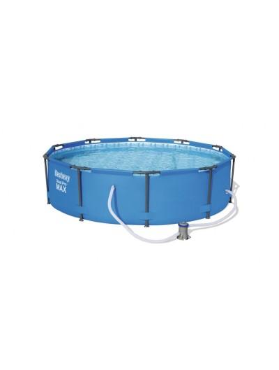 Okrúhly bazén 10 ft 305x76cm SteelPRO 3 in 1s kartušovou filtráciou BESTWAY