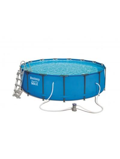 Okrúhly bazén 15 ft 457x122 cm SteelPRO 6v1 BESTWAY