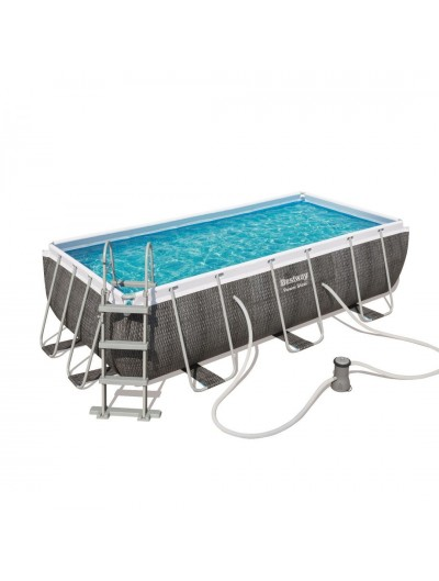 Nadzemný záhradný bazén  404 x 201 cm x 100 cm Power Steel Bestway