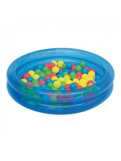Detský bazén s loptičkami - Modrý BESTWAY