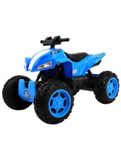 Elektrická štvorkolka Quad Sport Run 4x4 - Modrá